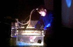 Ricardo Coelho de Souza performing David Ikard's <em>Água Eletrônica </em>(2013)